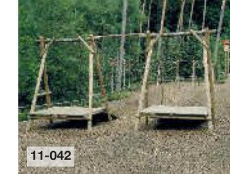 Große Seilbahn Länge bis 30 m ohne Rampe für Erdschüttung PH11-044