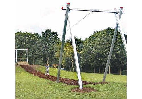 Große Seilbahn 50 m ohne Rampe, aus Aluprofil PH11-049
