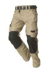 Tricorp Werkbroek TWC2000 khaki-zwart