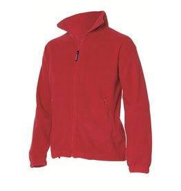 Tricorp Fleece vest FLV320 rood