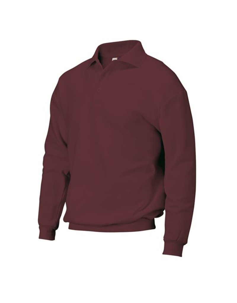 Tricorp Polosweater PSB280 bordeaux