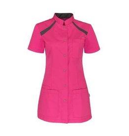 De Berkel Dames jasje Tula roze-donkergrijs