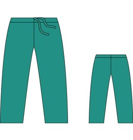 Molnlycke Omlooppak basic broek groen