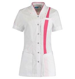 De Berkel Dames jasje Lara wit met kleuraccent