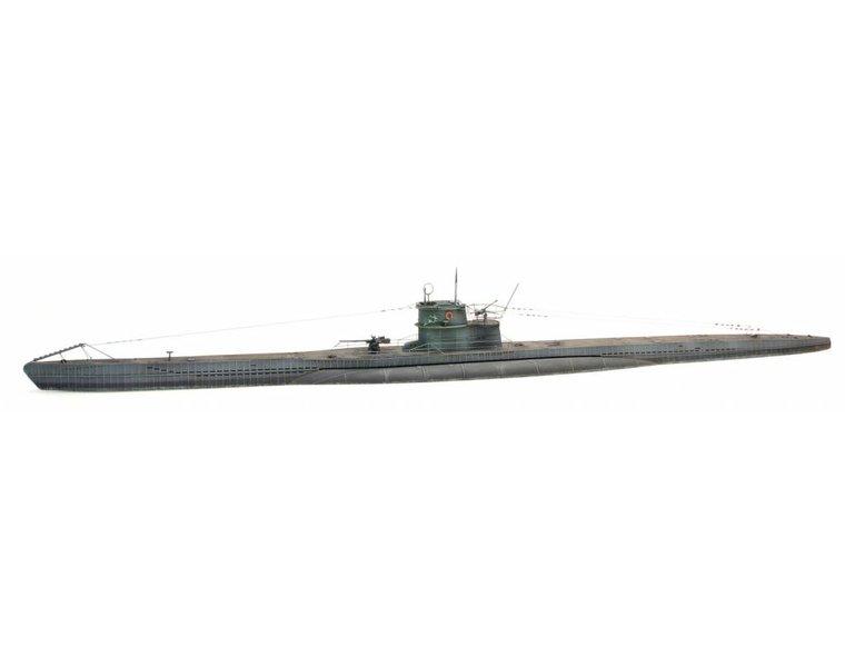 Onderzeeboot VII C waterlijn