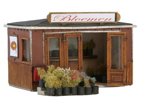 Flowershop, 1:87, resin kit, unpainted