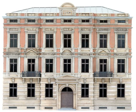 Facade H, 1:87, resin kit, unpainted