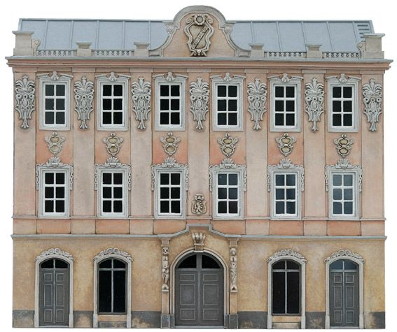 Facade I, 1:87, resin kit, unpainted