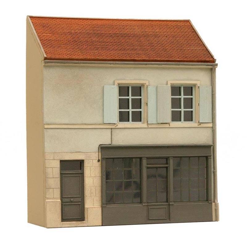 Fassade L Frankreich, 1:87, Bausatz aus Resin, unlackiert