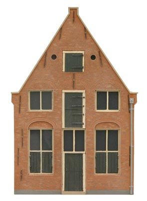 Facade U 17th century Dutch, 1:87, resin kit, unpainted