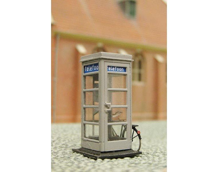 Dutch PTT telephone booth