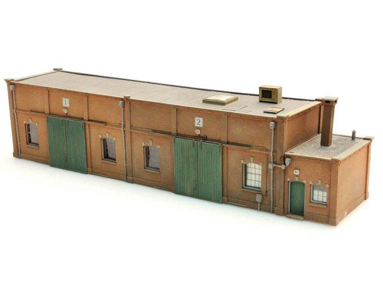Lagergebäude Halbmodell