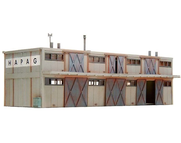 Loods met twee verdiepingen 1:160