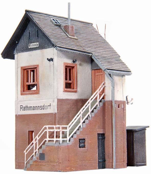 Overweg Rathmannsdorf, 1:160, bouwpakket uit resin, ongeverfd