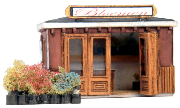 Flower stand, 1:160, resin kit, unpainted