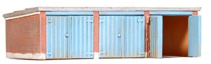 Garages, 1:160, resin kit, unpainted