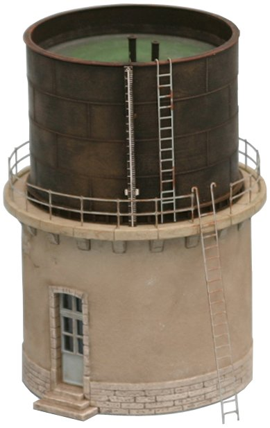 French water tower, 1:160, resin kit, unpainted