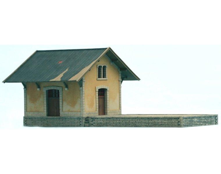 Französisches Lagergebäude 1:160