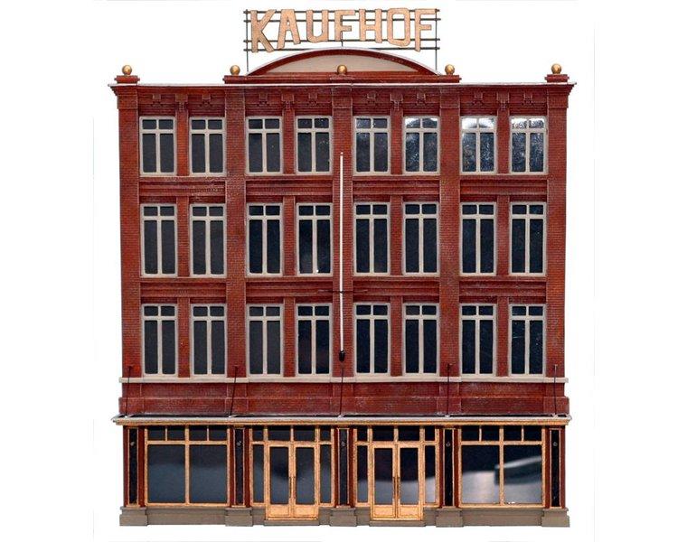 Fassade Kaufhof 1:160