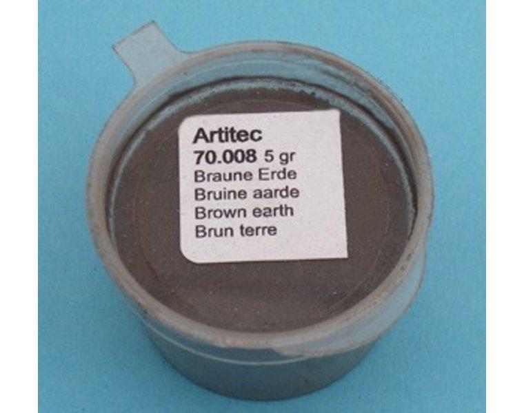 Bruine aarde (modelbouwpoeder)