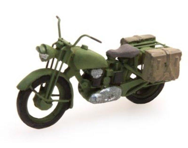 U.K. Truimph military motorcycle