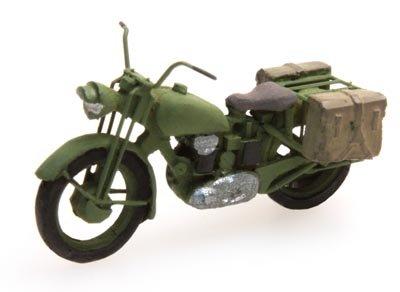 Motor Triumph militair, 1:87 bouwpakket resin, ongeverfd