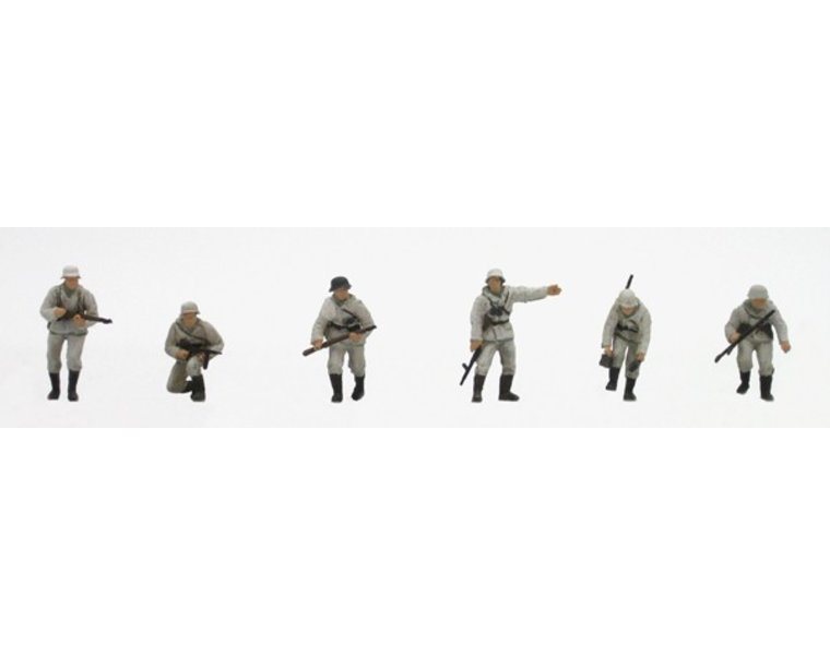 Set 1 Duitse infanterie in Winteruniform