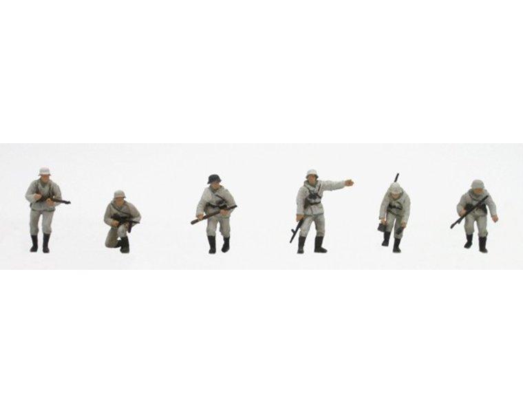 Set 1 German infantry winter uniform