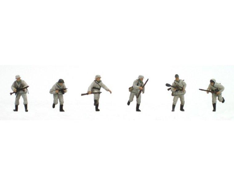 Set 2 German infantry winter uniform