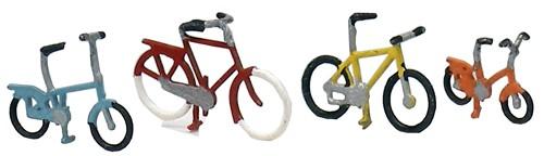 Fahrräder modern, 1:160, Fertigmodell ausÄtzteilen, lackiert