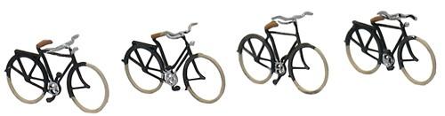 Deutsche Fahrräder 1920-1960, 1:160, Fertigmodell ausÄtzteilen, lackiert
