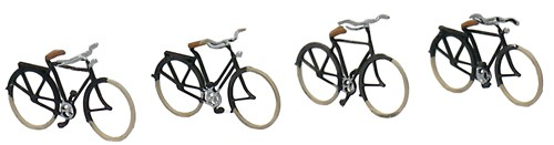 German bicycles 1920-1960, 1:160, etched ready made, painted