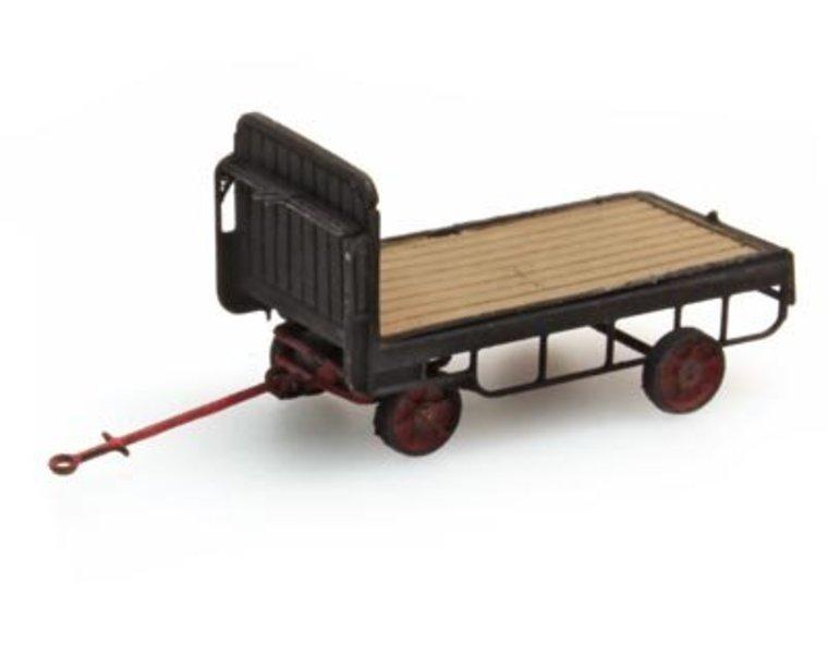 Trailer electric platform truck