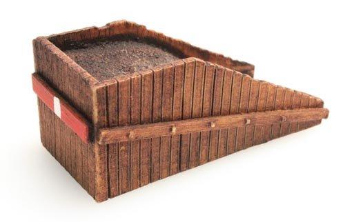 Bufferblok, 1:160, kant en klaar resin, geverfd