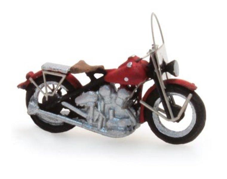 US motorcycle Liberator Zivil, rot