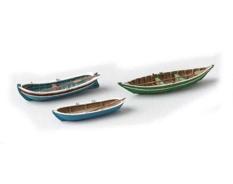 Rowboats 3 pieces
