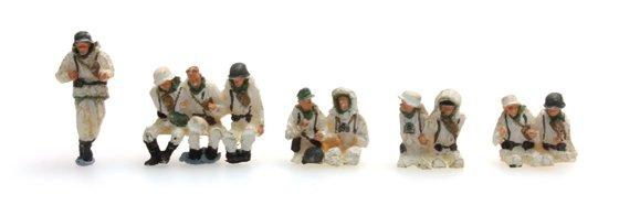 Bemanning Sd.Kfz.251/1B winter, 10 figuren
