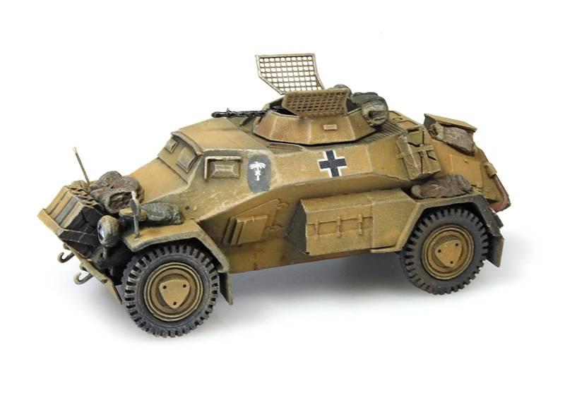 Sd.Kfz 221, 4-rad, MG34, Afrikakorps