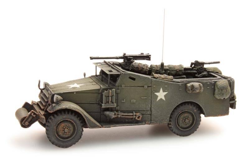 M3A1 White scout car, US / UK