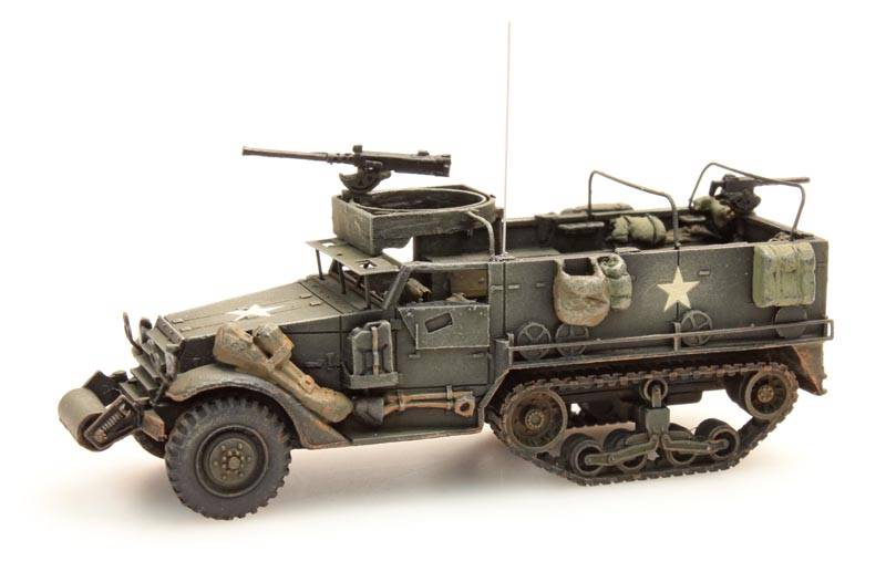 M3A1 Halftrack, .50 M2 machine gun, US / UK