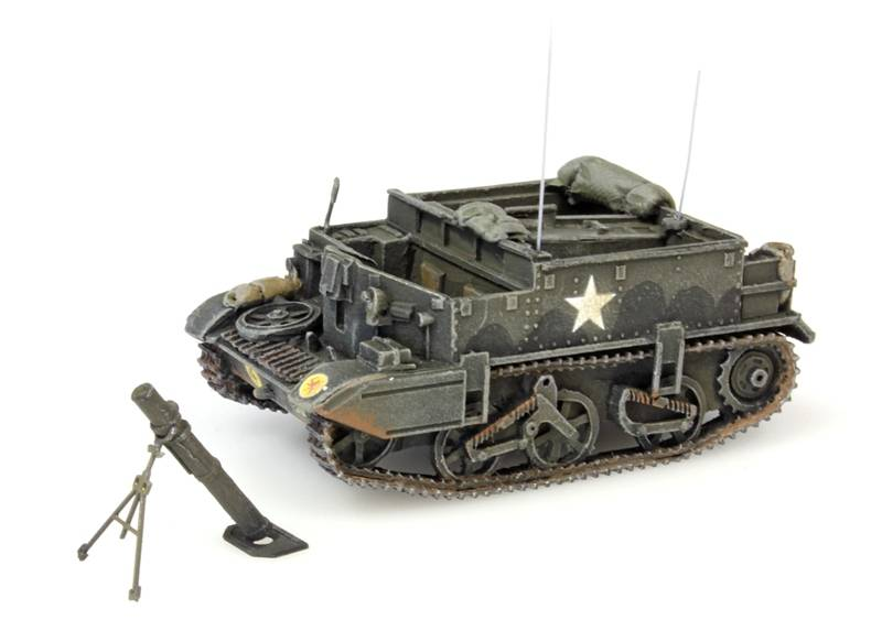 Universal Carrier, mortar, UK