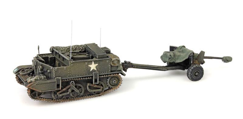 Universal Carrier + 6-pdr AT gun, UK