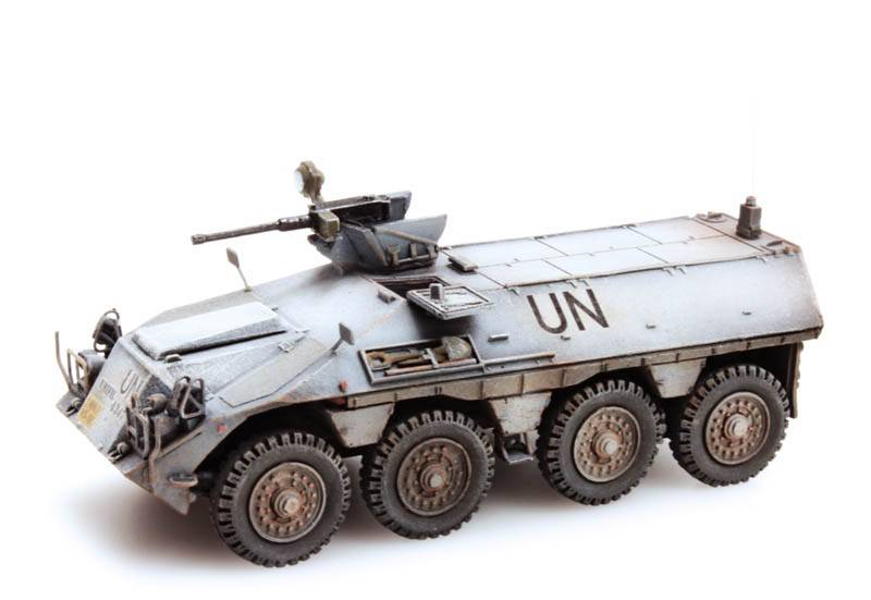 DAF YP-408 PWI-GR Infantry section UNIFIL