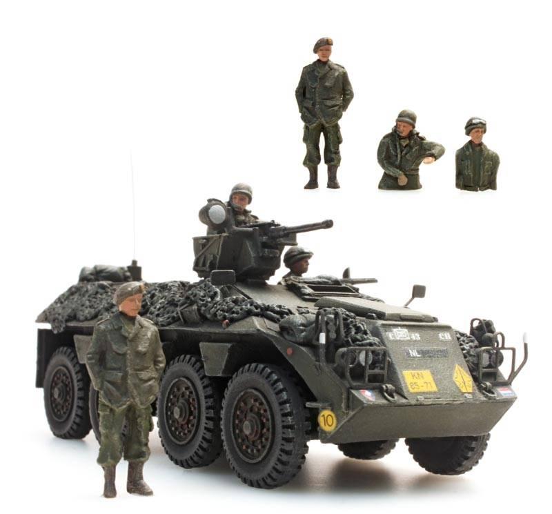 YP-408 Besatzung Niederländisches Heer, 3 Figuren