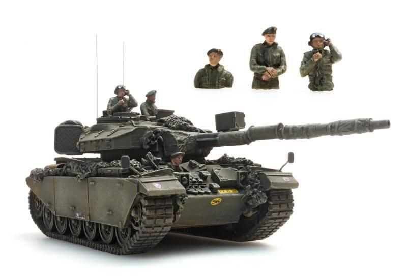 NL Panzerbesatzung, 3 Figuren