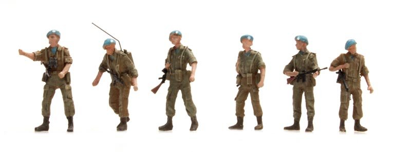 Dutch UNIFIL Patrol 6 figures