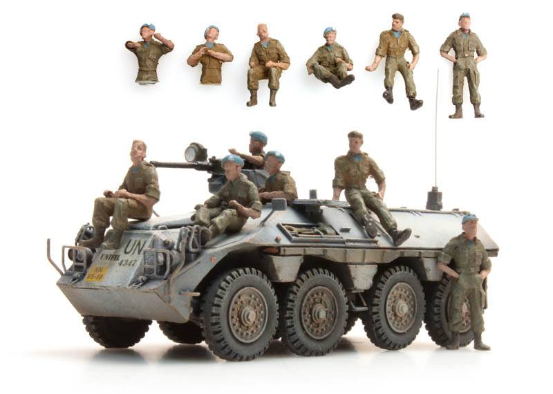 DAF YP-408 Resting crew UNIFIL, 6 figures