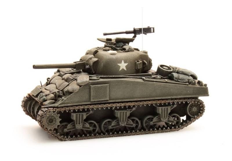 Sherman M4 stowage 2, 1:87 Fertigmodell ausResin, lackiert
