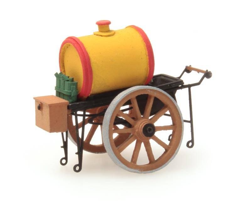 Ölwagen gelb