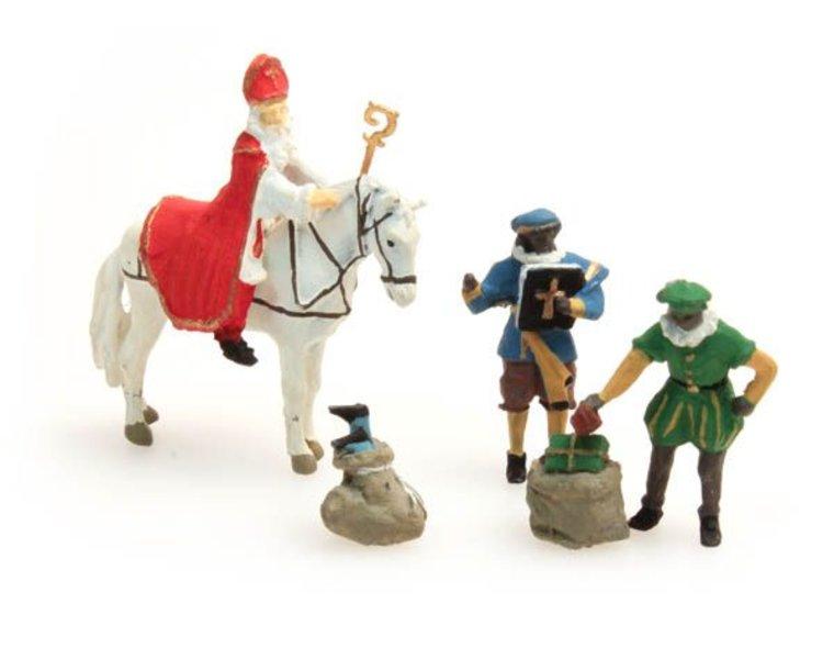Sinterklaas and black Pete